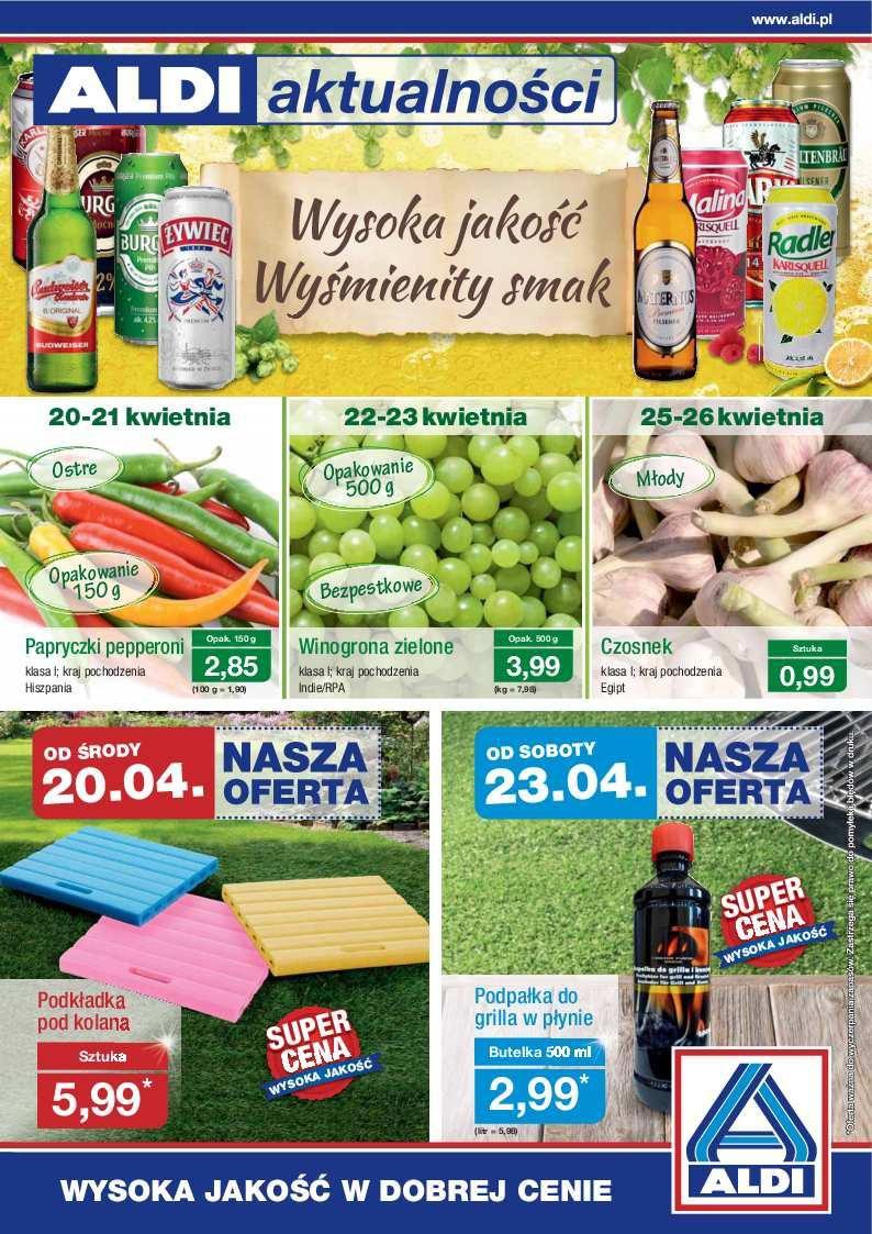 Gazetka promocyjna ALDI do 24/04/2016 str.0
