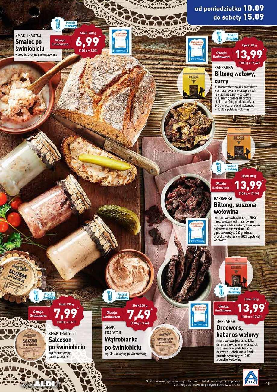Gazetka promocyjna ALDI do 15/09/2018 str.15