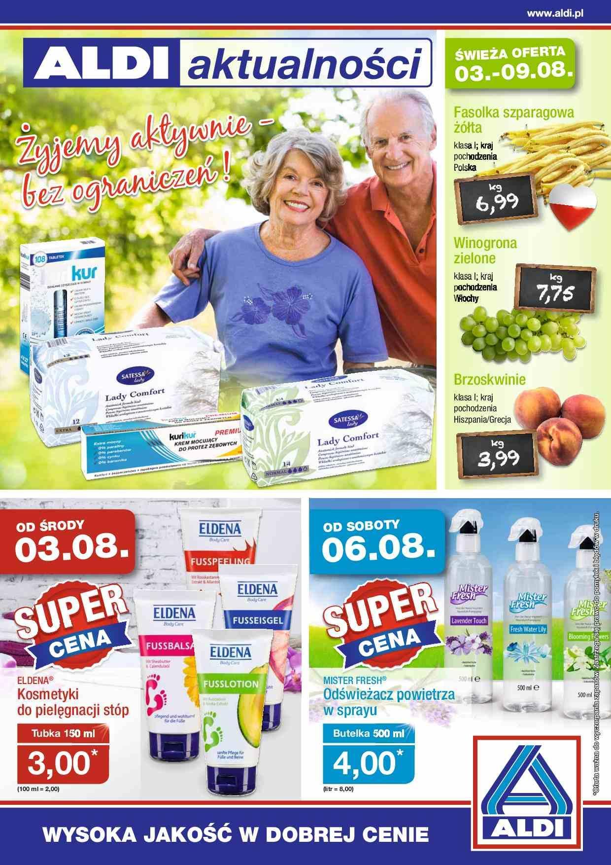 Gazetka promocyjna ALDI do 09/08/2016 str.0