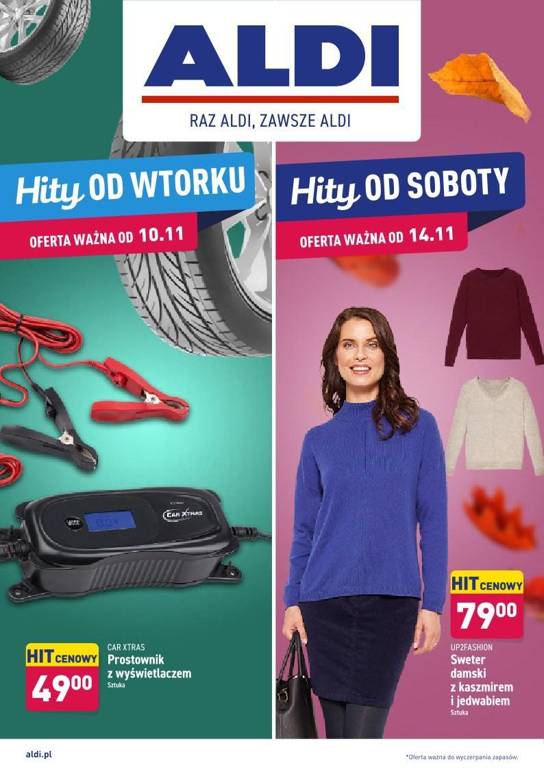 Gazetka promocyjna ALDI do 14/11/2020 str.0