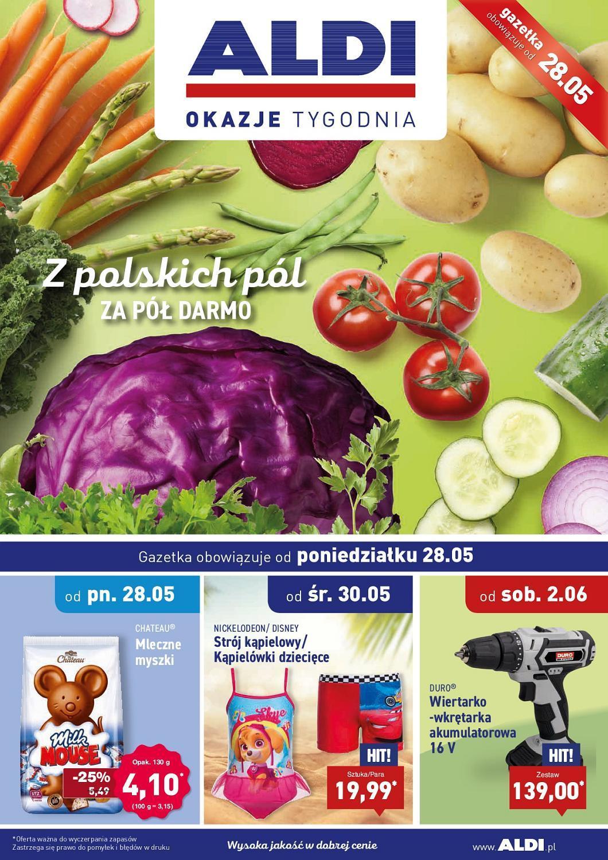 Gazetka promocyjna ALDI do 03/06/2018 str.0