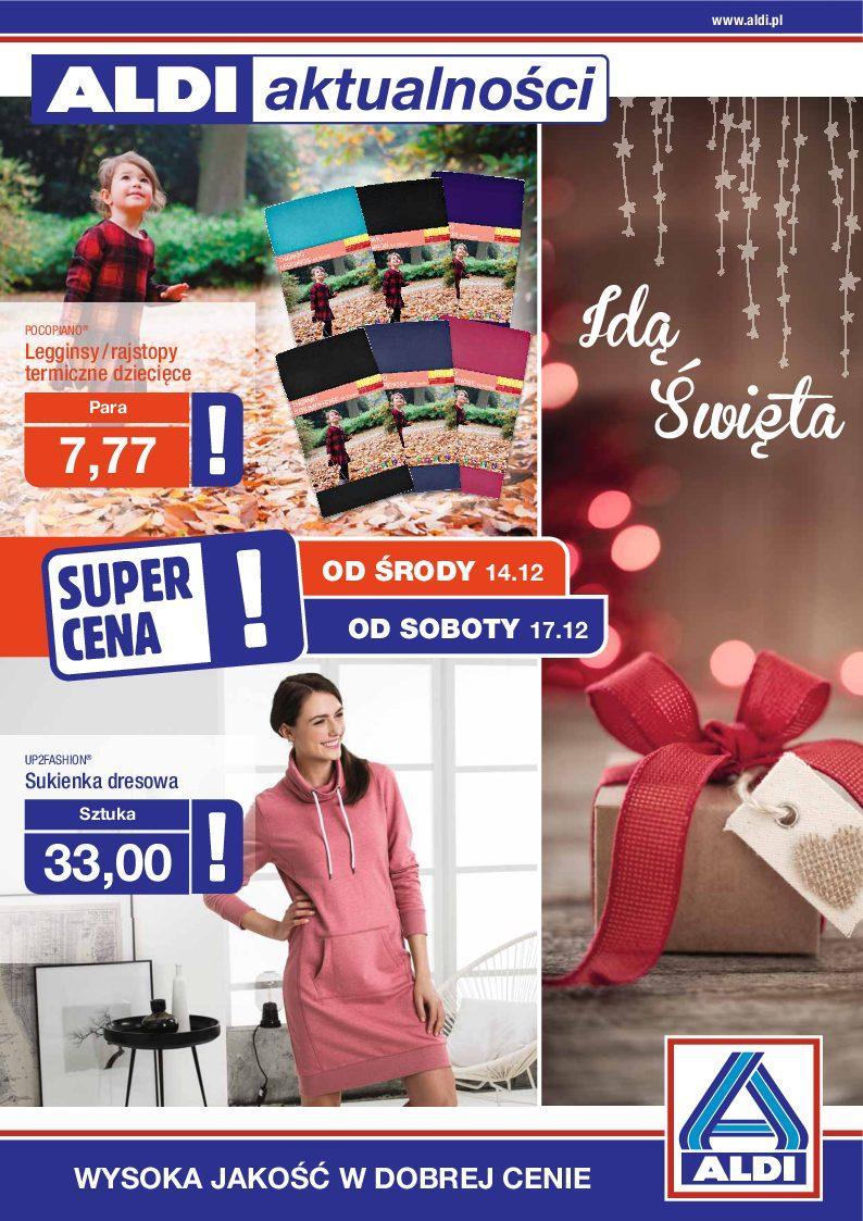 Gazetka promocyjna ALDI do 20/12/2016 str.0