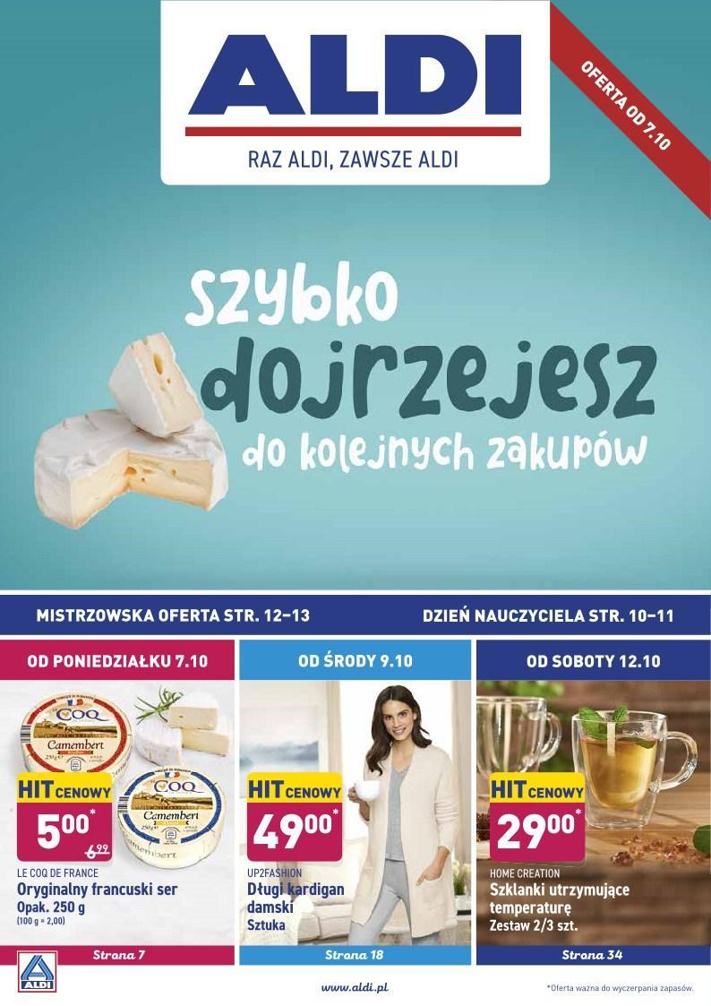 Gazetka promocyjna ALDI do 12/10/2019 str.1