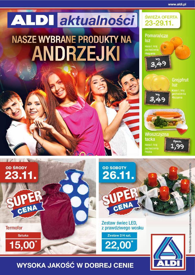 Gazetka promocyjna ALDI do 29/11/2016 str.0