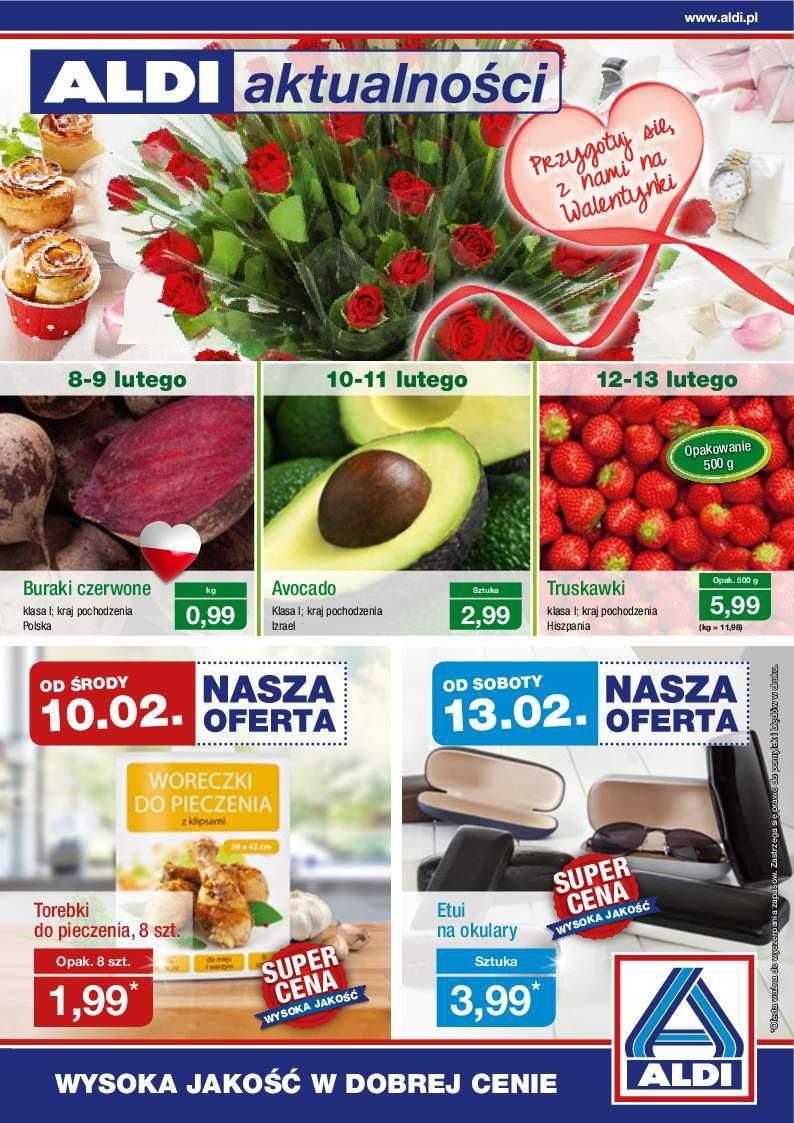 Gazetka promocyjna ALDI do 14/02/2016 str.0