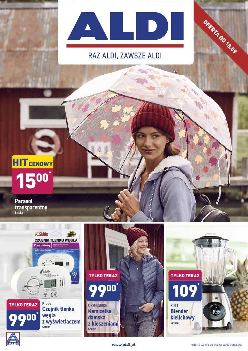 Gazetka promocyjna ALDI do 22/09/2019 str.1