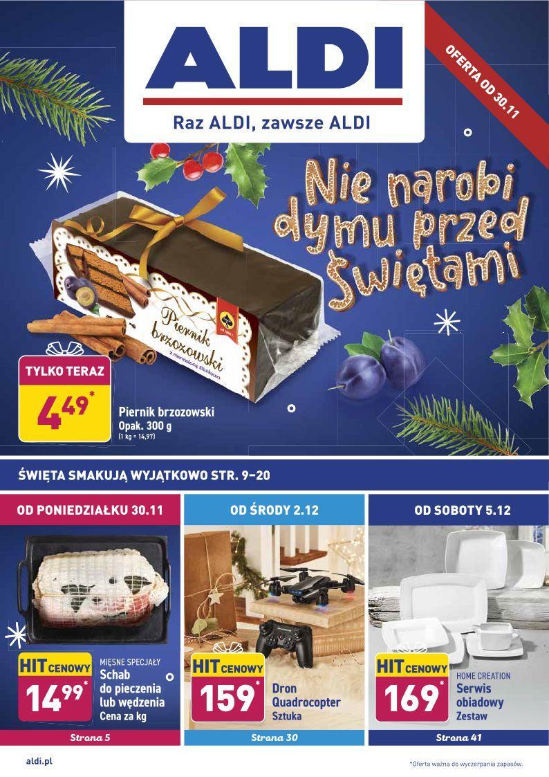 Gazetka promocyjna ALDI do 05/12/2020 str.0