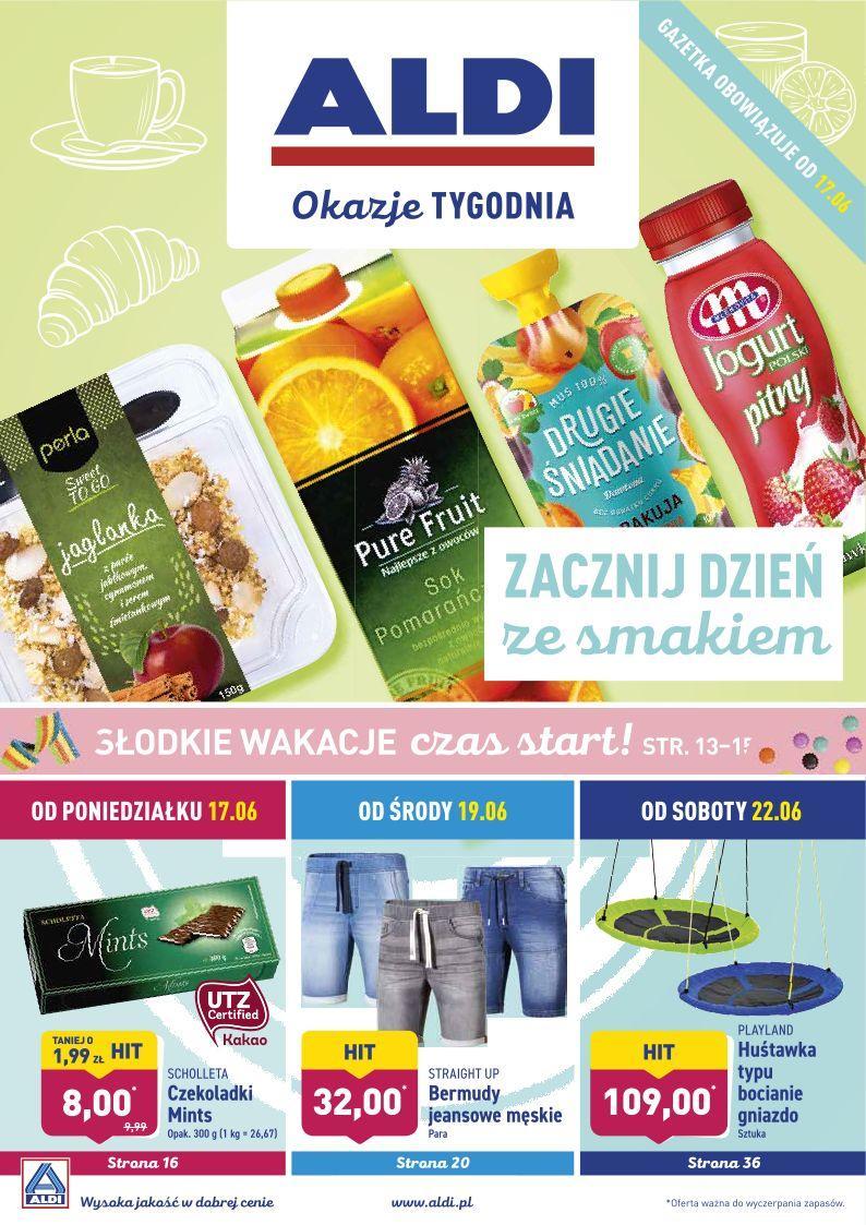 Gazetka promocyjna ALDI do 22/06/2019 str.0