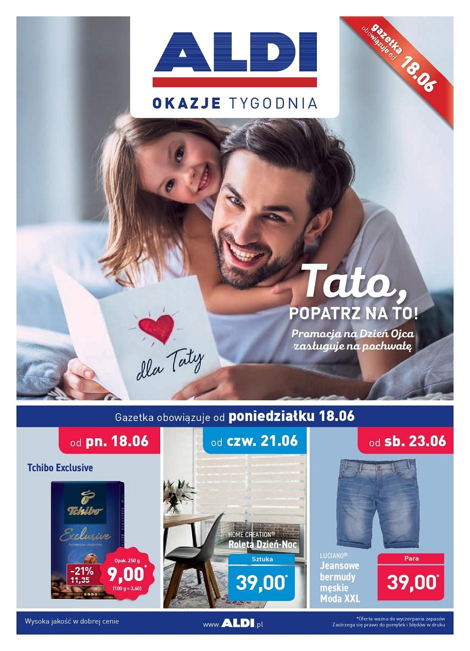 Gazetka promocyjna ALDI do 23/06/2018 str.1