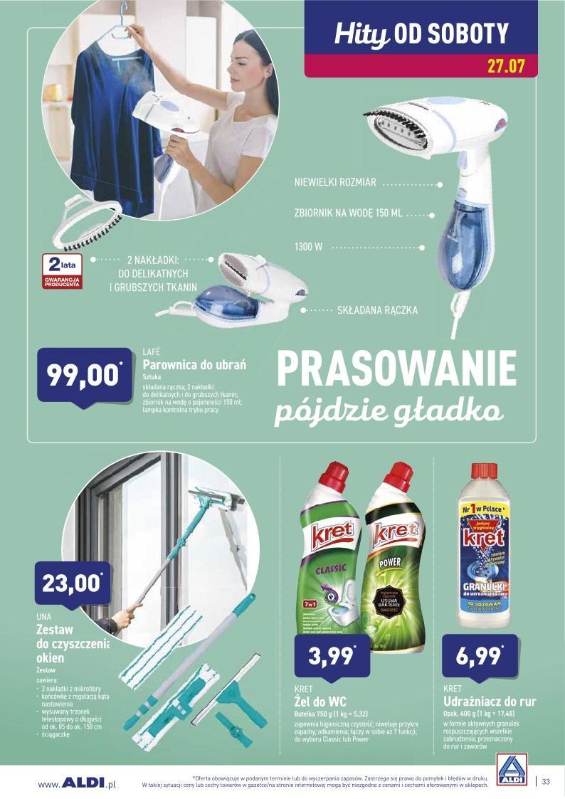 Gazetka promocyjna ALDI do 28/07/2019 str.33