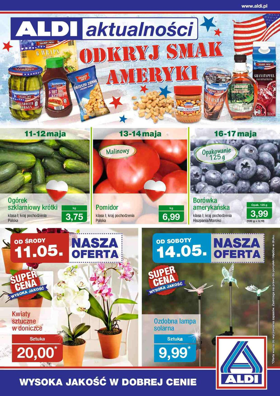 Gazetka promocyjna ALDI do 15/05/2016 str.0