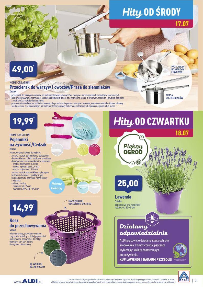 Gazetka promocyjna ALDI do 20/07/2019 str.26