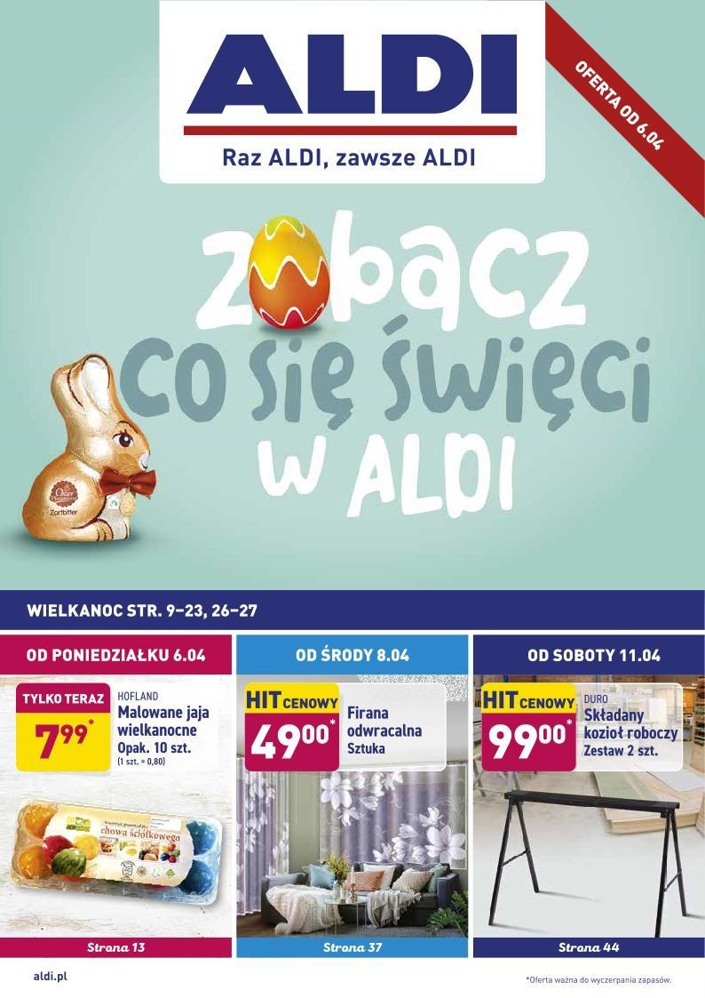 Gazetka promocyjna ALDI do 12/04/2020 str.1