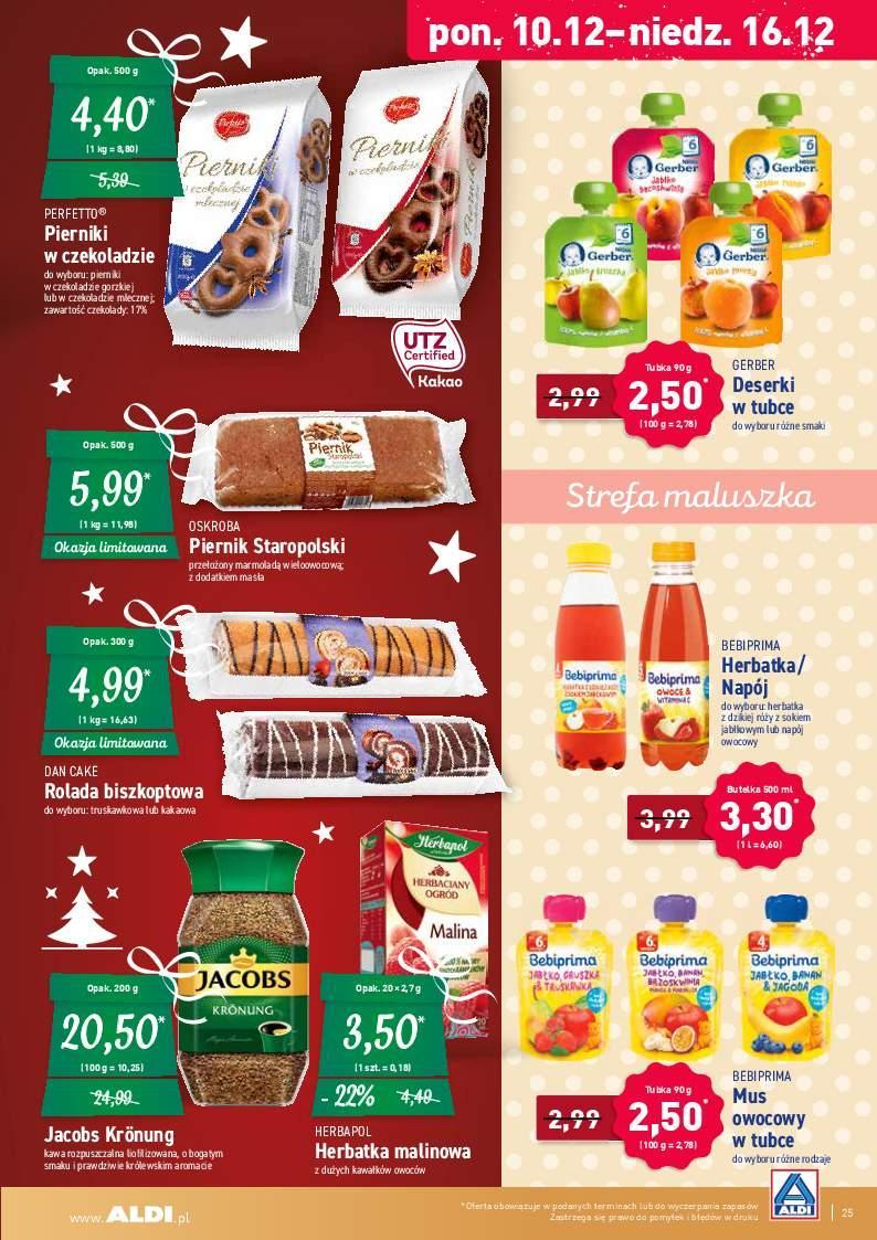 Gazetka promocyjna ALDI do 15/12/2018 str.25