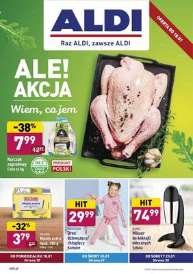 ALDI gazetka - od 18/01/2021 do 23/01/2021