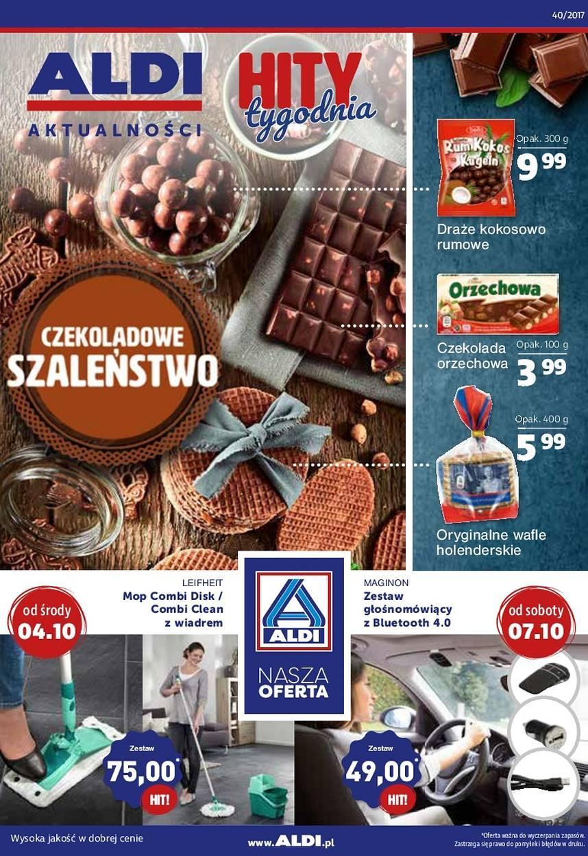 Gazetka promocyjna ALDI do 10/10/2017 str.0
