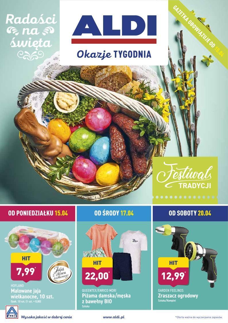 Gazetka promocyjna ALDI do 20/04/2019 str.0