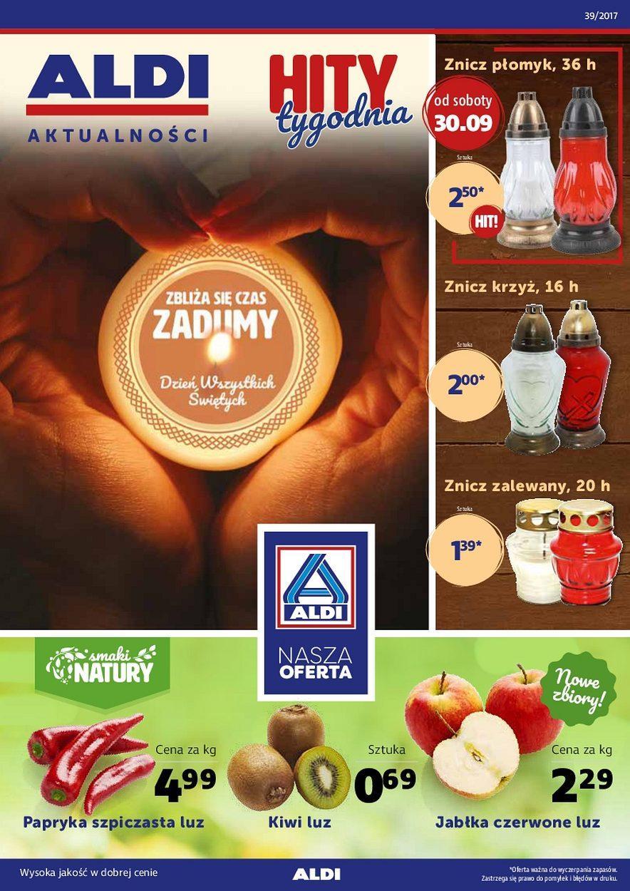 Gazetka promocyjna ALDI do 03/10/2017 str.0