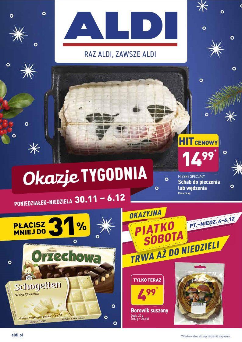 Gazetka promocyjna ALDI do 06/12/2020 str.0