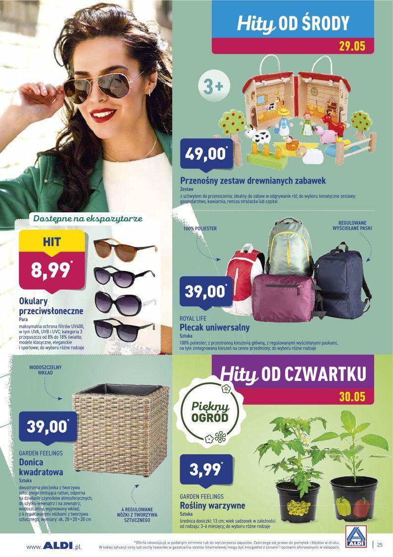 Gazetka promocyjna ALDI do 01/06/2019 str.25