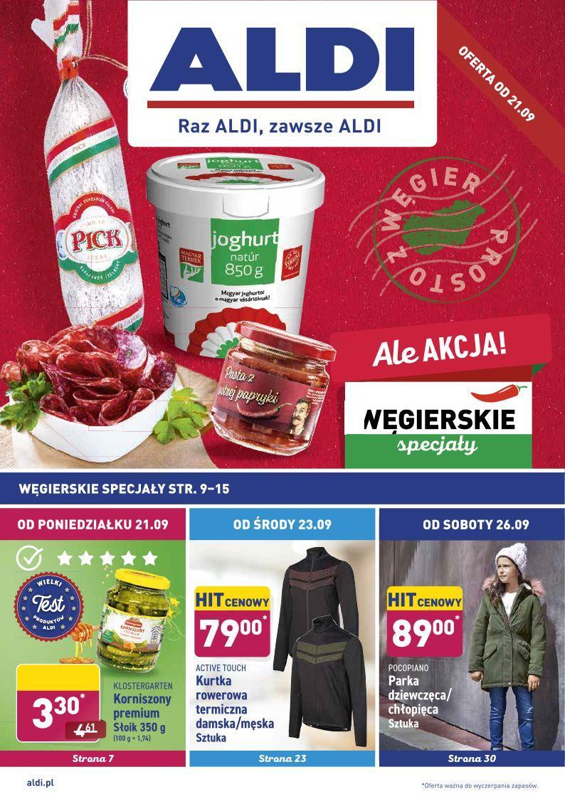 Gazetka promocyjna ALDI do 27/09/2020 str.0