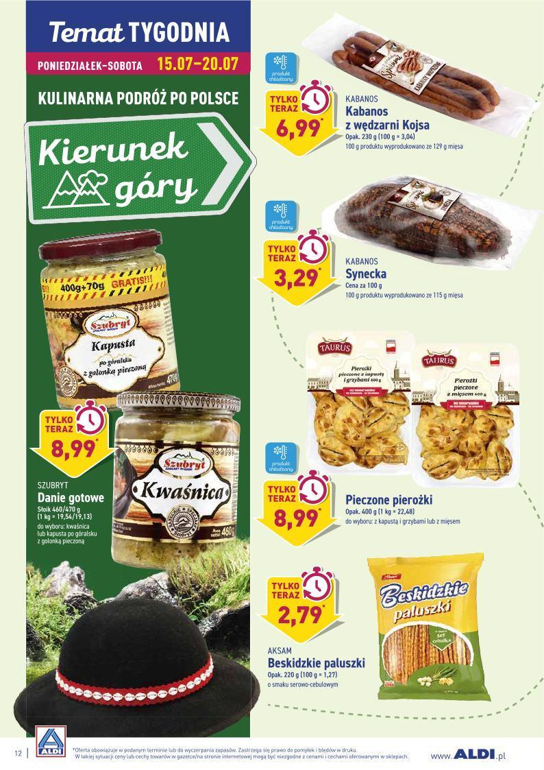 Gazetka promocyjna ALDI do 20/07/2019 str.12