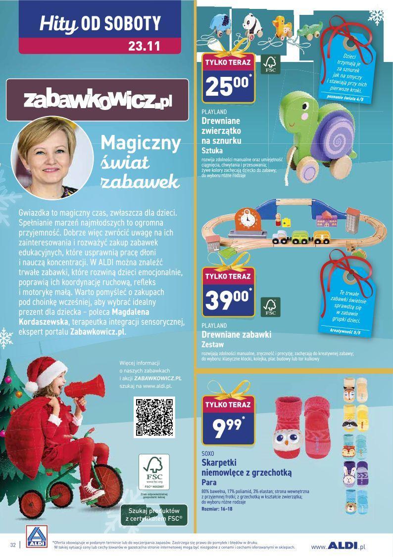 Gazetka promocyjna ALDI do 24/11/2019 str.32