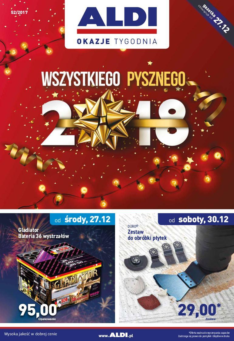 Gazetka promocyjna ALDI do 02/01/2018 str.0