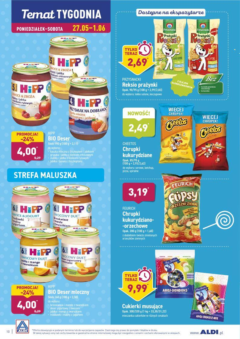 Gazetka promocyjna ALDI do 01/06/2019 str.10