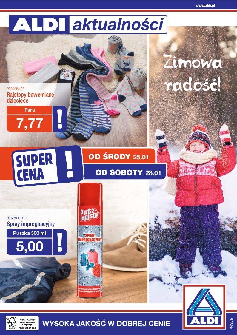 Gazetka promocyjna ALDI do 31/01/2017 str.0