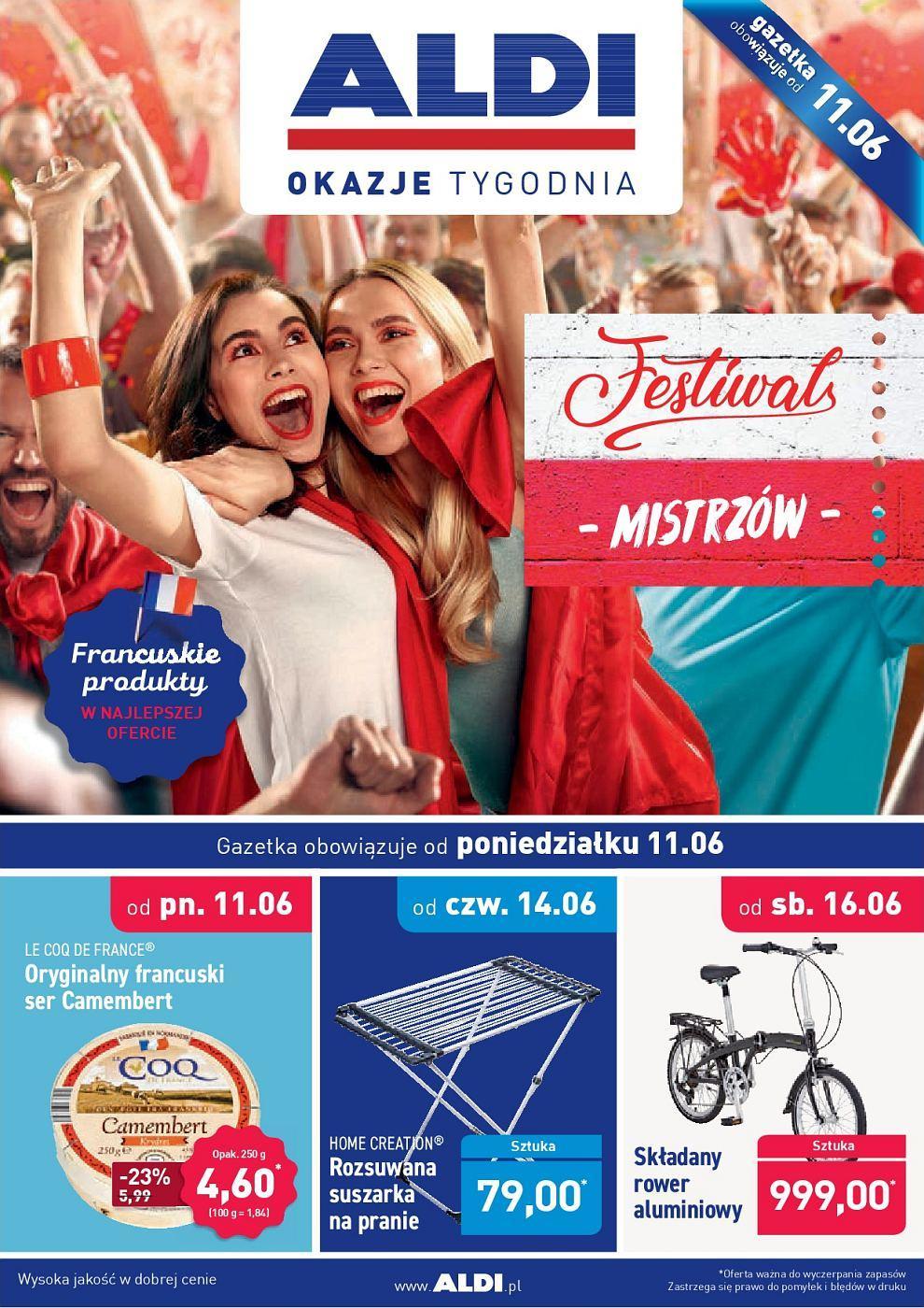 Gazetka promocyjna ALDI do 16/06/2018 str.0