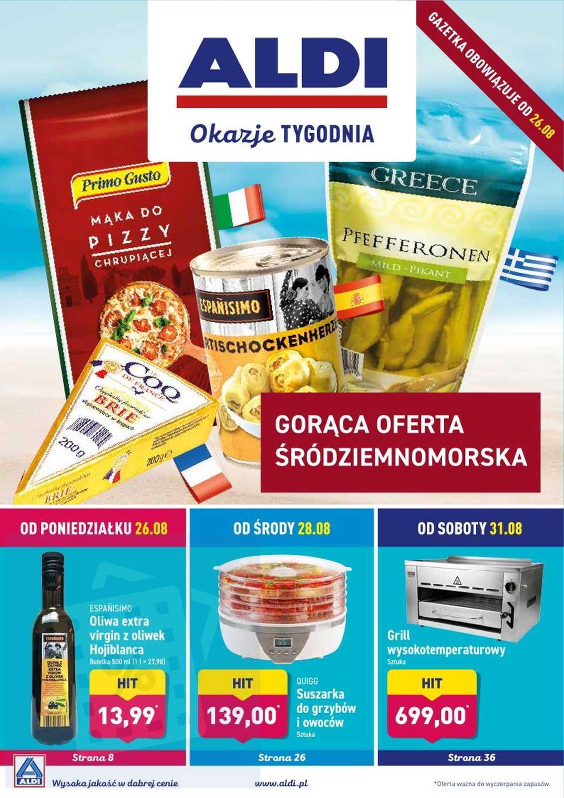 Gazetka promocyjna ALDI do 31/08/2019 str.0