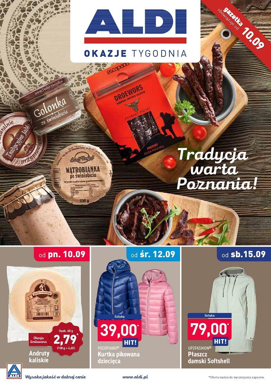 Gazetka promocyjna ALDI do 15/09/2018 str.1