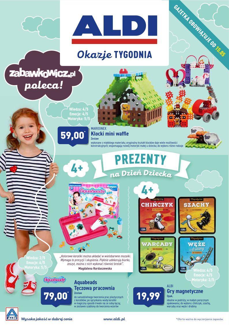 Gazetka promocyjna ALDI do 18/05/2019 str.1