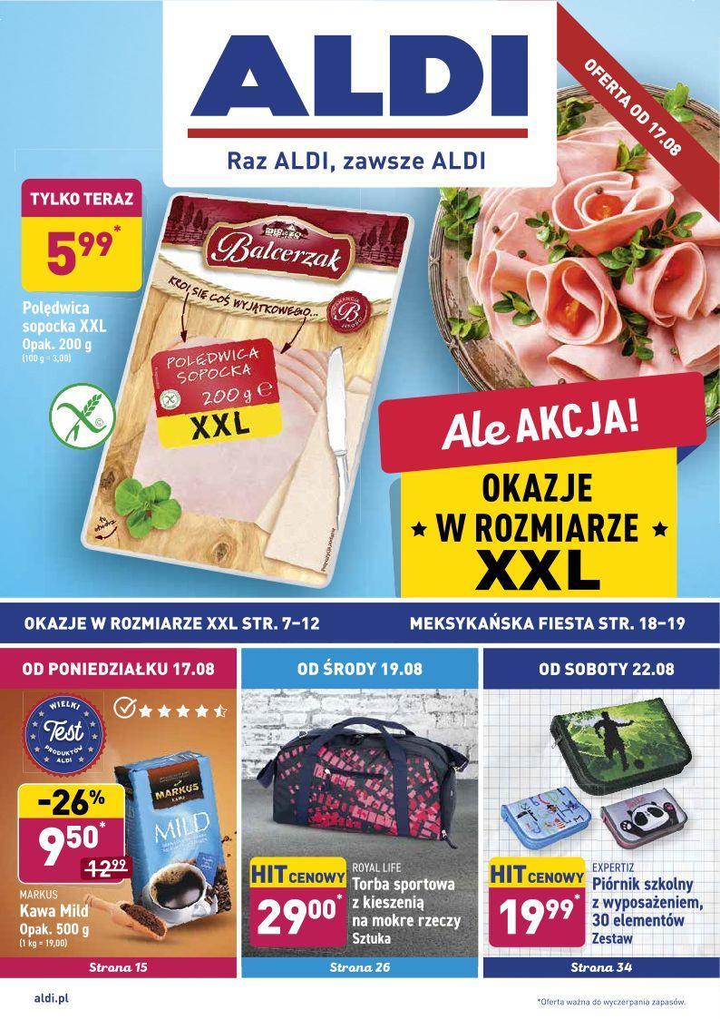 Gazetka promocyjna ALDI do 22/08/2020 str.0