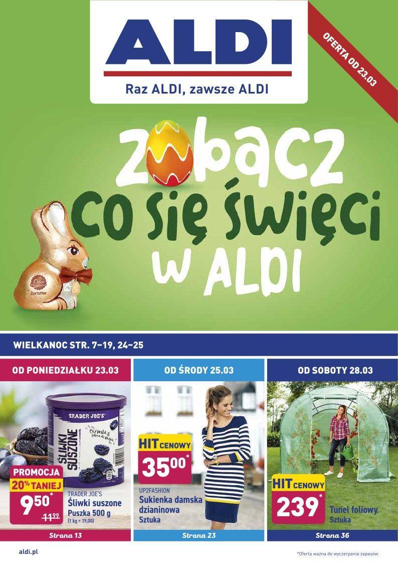 Gazetka promocyjna ALDI do 29/03/2020 str.1