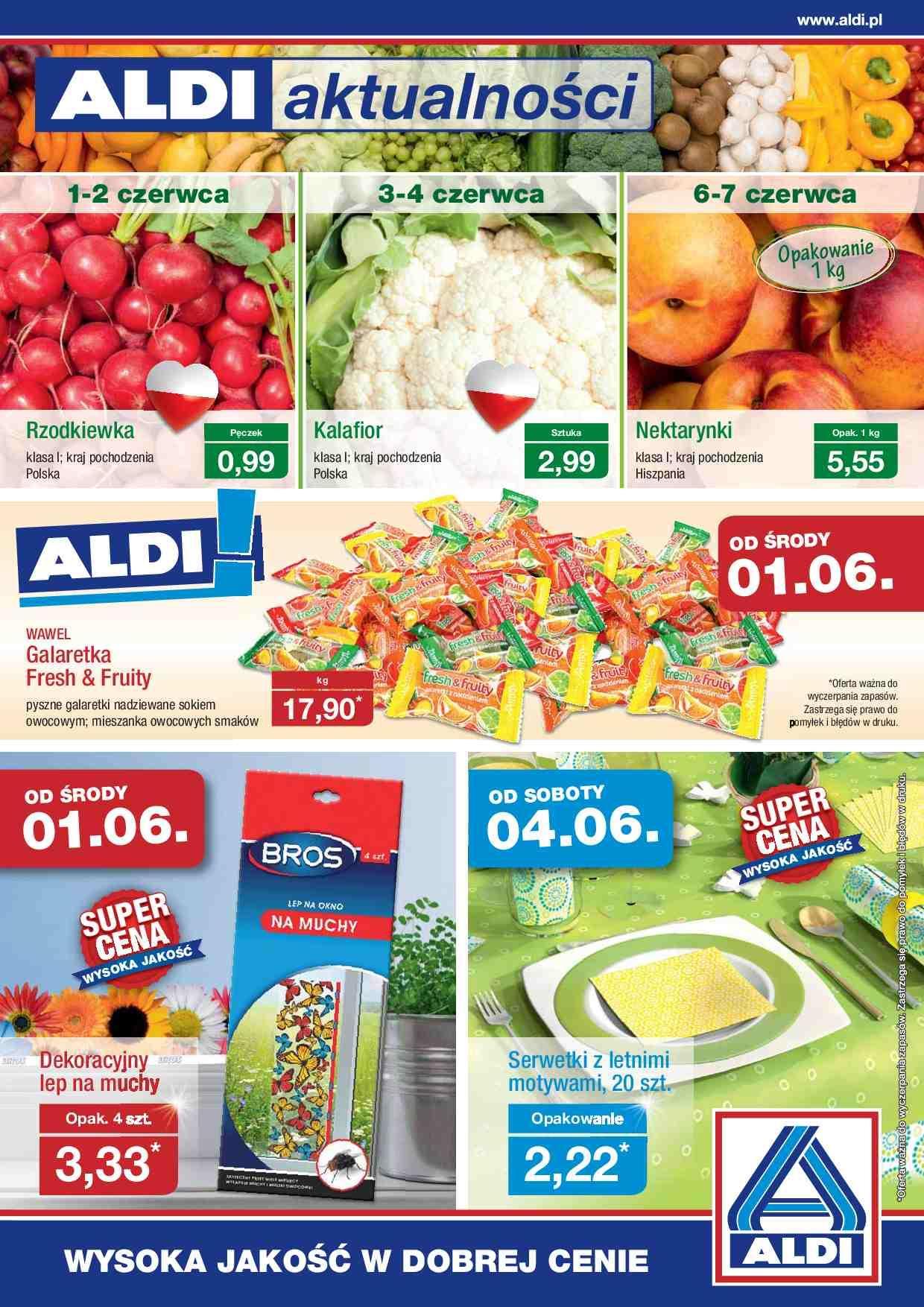 Gazetka promocyjna ALDI do 05/06/2016 str.0