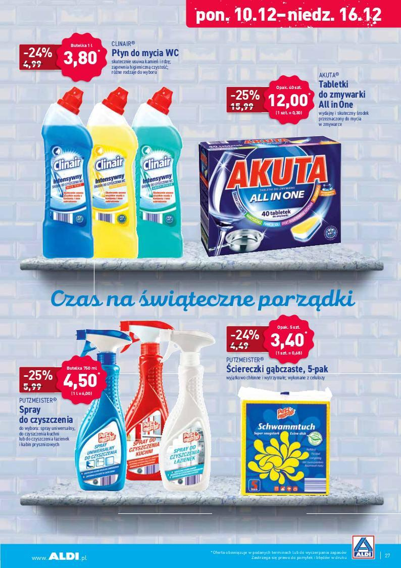 Gazetka promocyjna ALDI do 15/12/2018 str.27