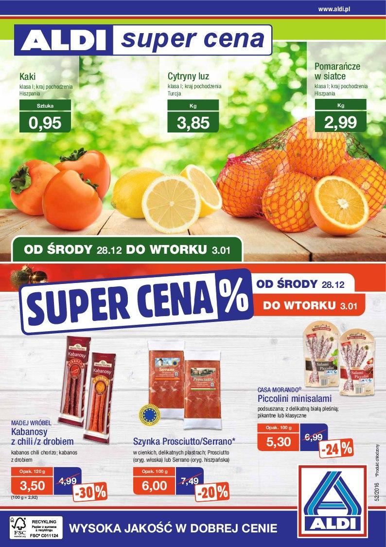 Gazetka promocyjna ALDI do 03/01/2017 str.0