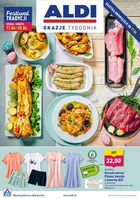 ALDI gazetka  - od 17/04/2019 do 20/04/2019
