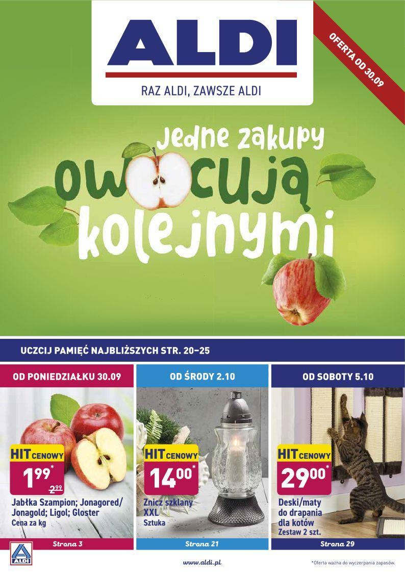 Gazetka promocyjna ALDI do 05/10/2019 str.1