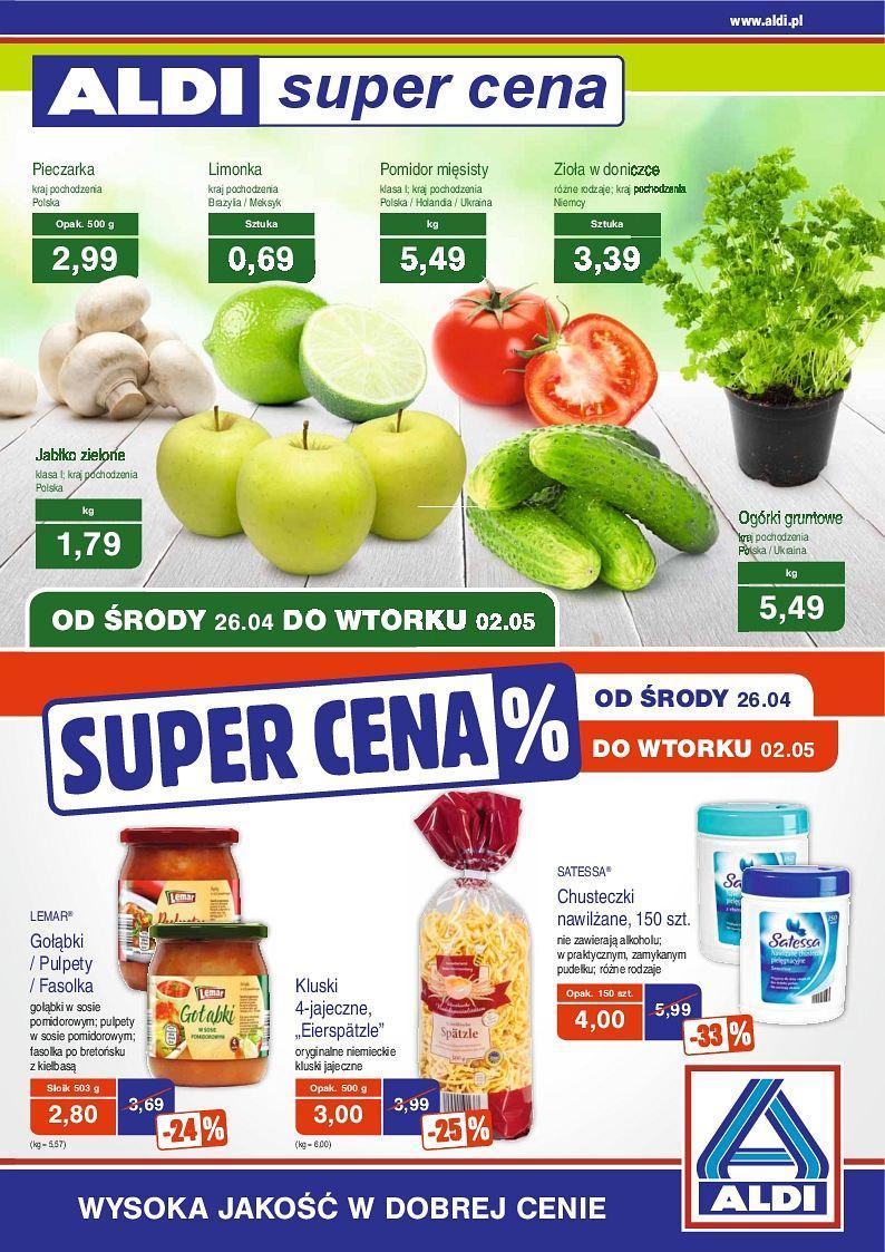 Gazetka promocyjna ALDI do 02/05/2017 str.0