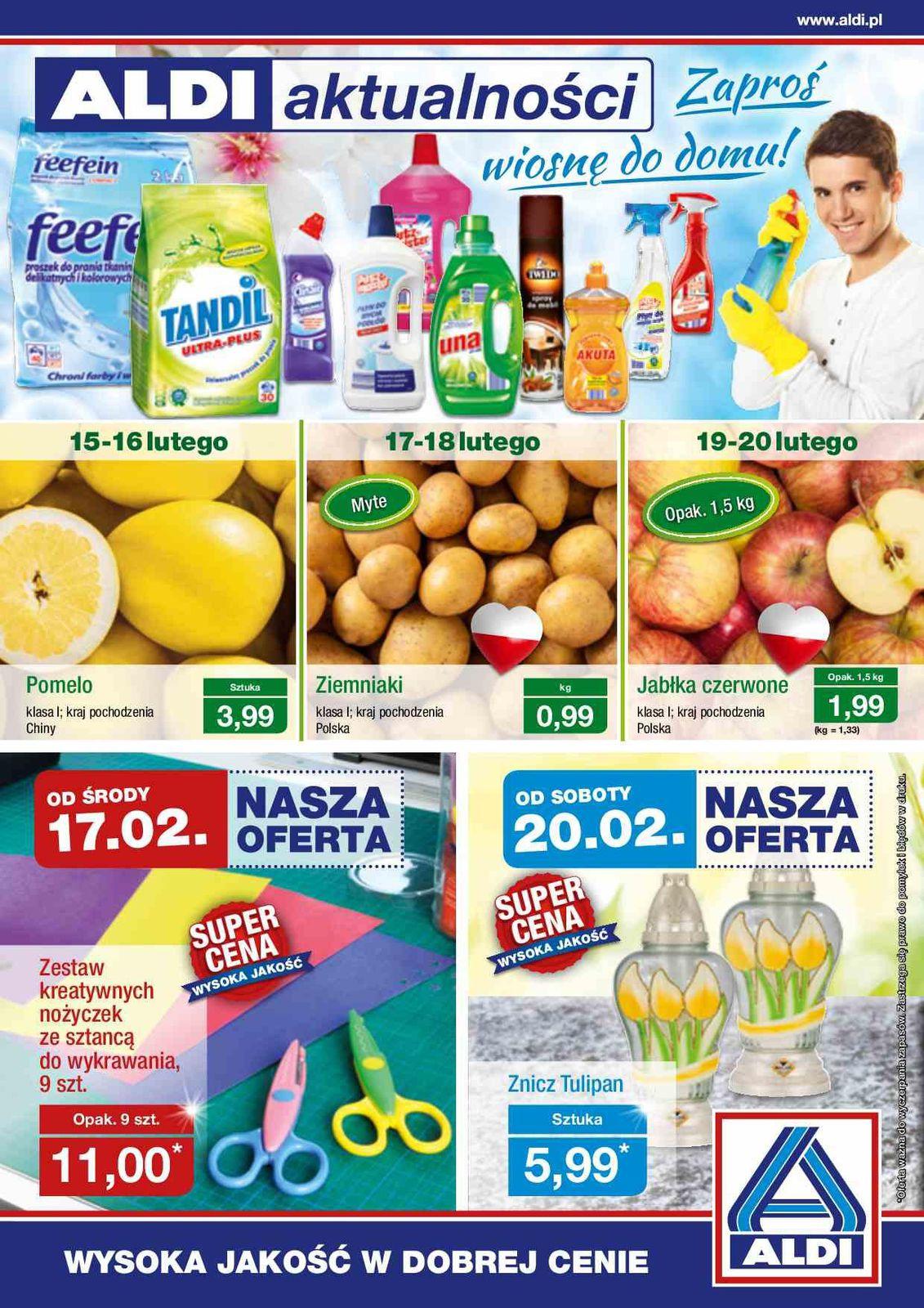 Gazetka promocyjna ALDI do 21/02/2016 str.0