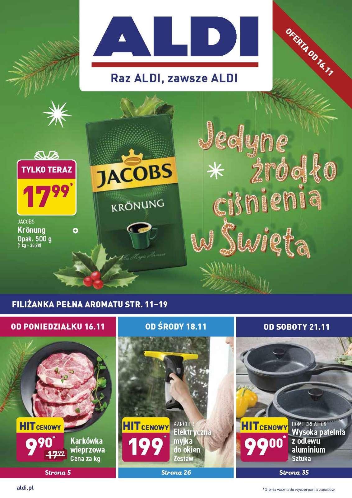 Gazetka promocyjna ALDI do 21/11/2020 str.0