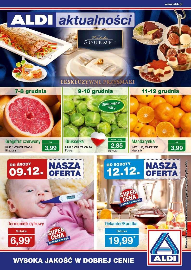 Gazetka promocyjna ALDI do 13/12/2015 str.0
