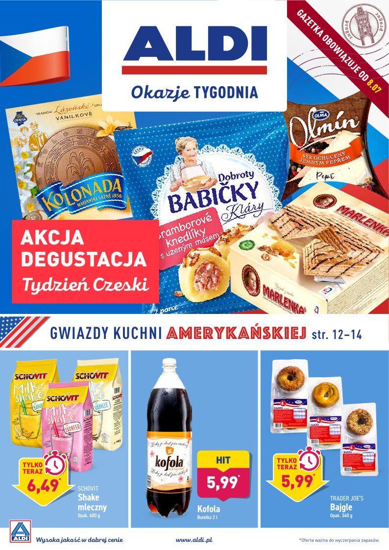 Gazetka promocyjna ALDI do 13/07/2019 str.1