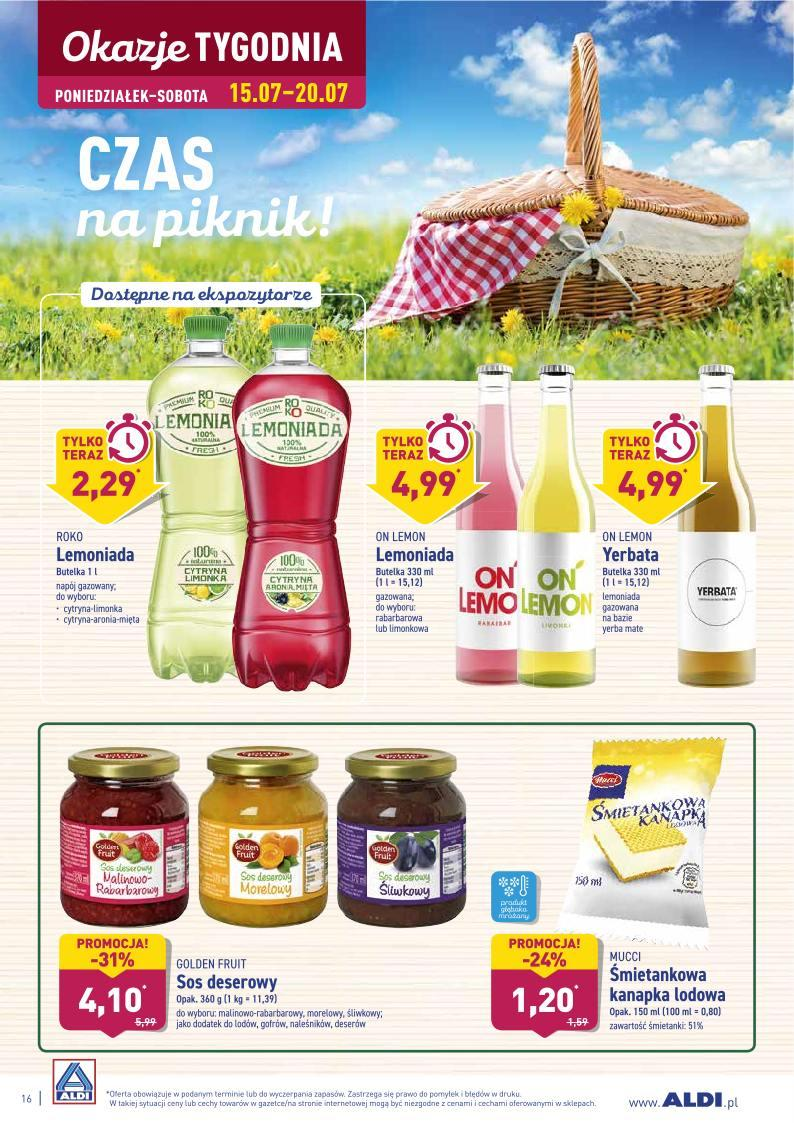 Gazetka promocyjna ALDI do 20/07/2019 str.16