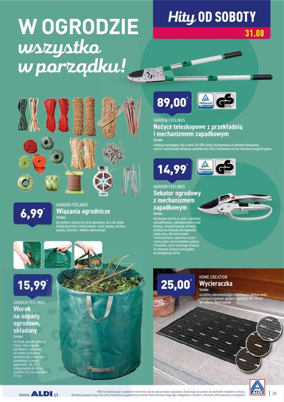 Gazetka promocyjna ALDI do 31/08/2019 str.32
