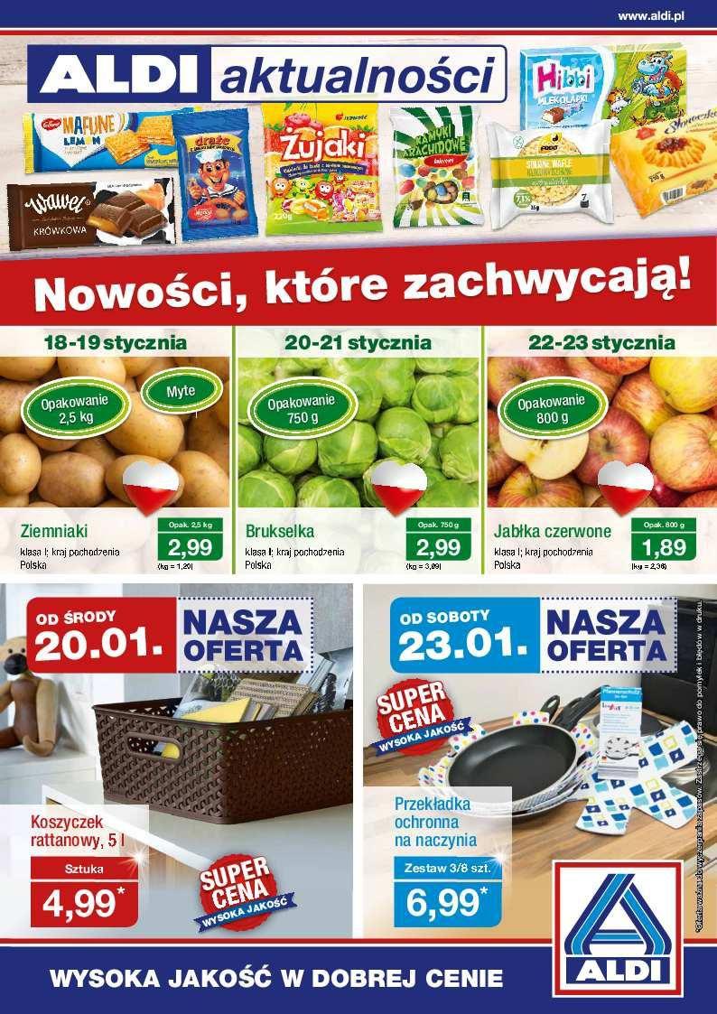 Gazetka promocyjna ALDI do 24/01/2016 str.0
