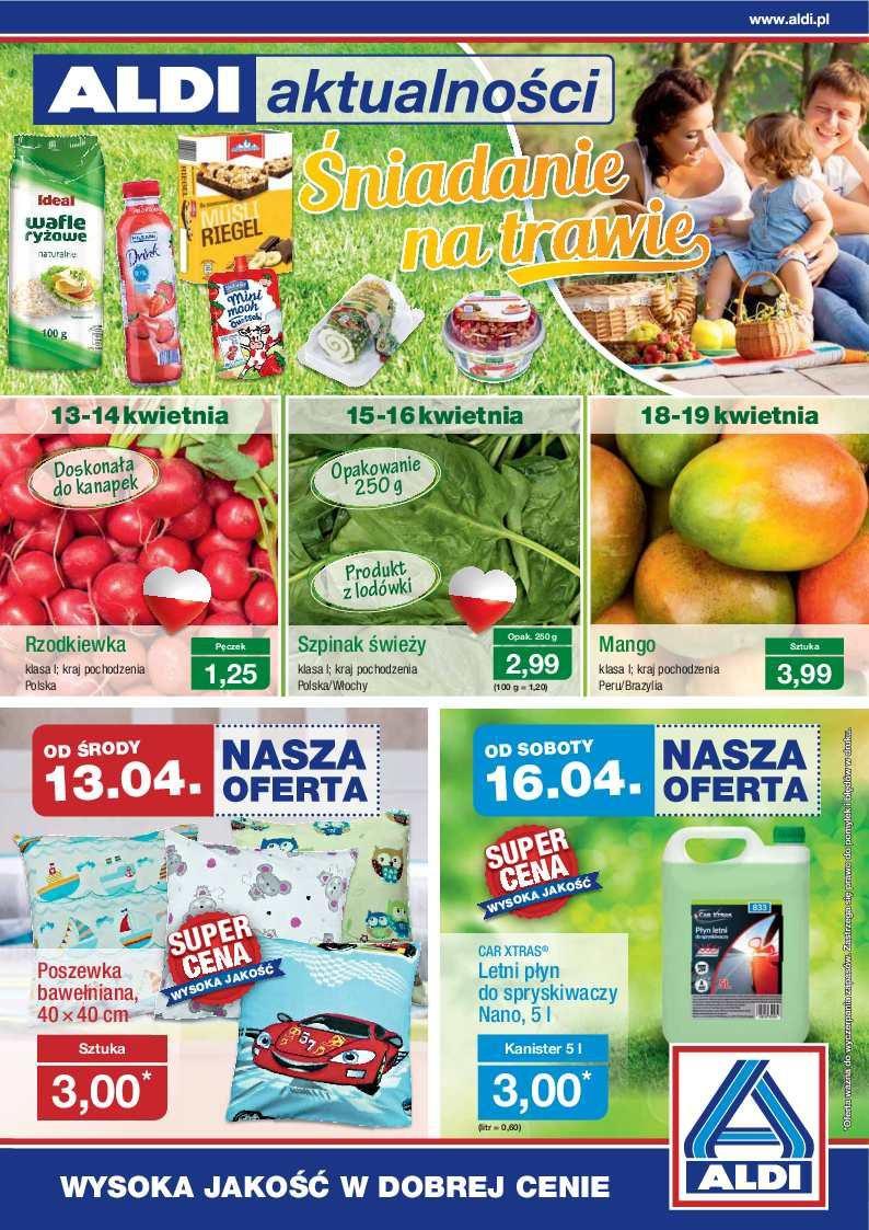 Gazetka promocyjna ALDI do 17/04/2016 str.0